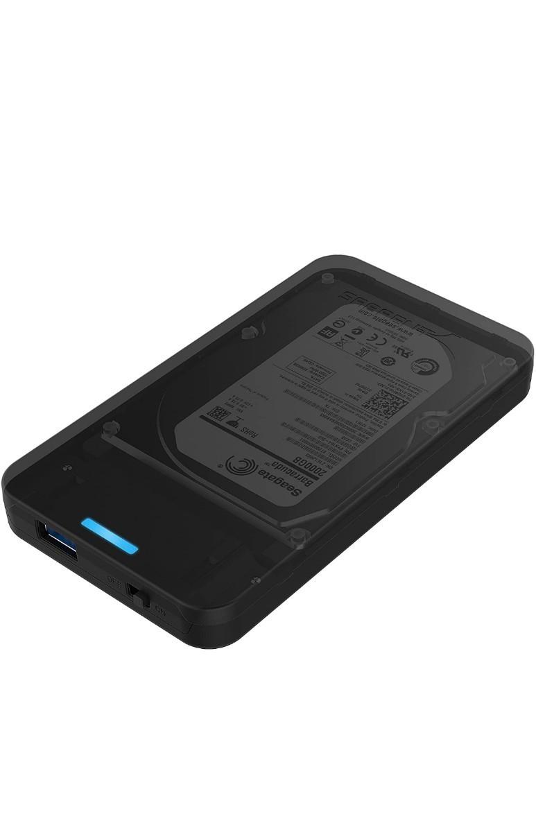 容量が大きいUSB3.0外付けポータブルHDD750GB(HDD WD)