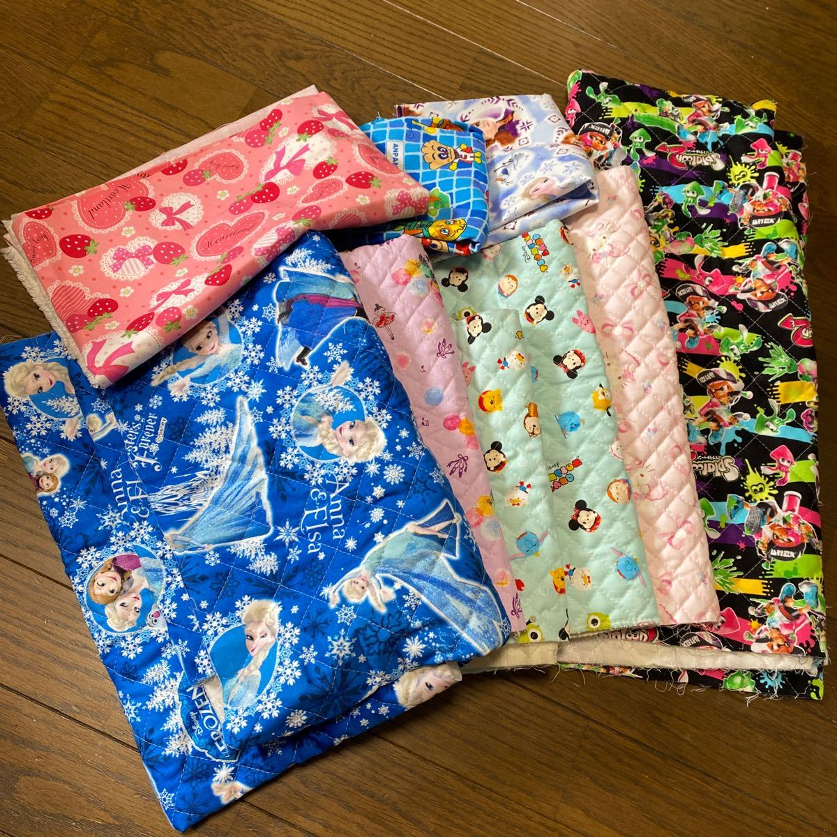 布生地 ハギレ 8種類セット 福袋 ※おまけ付