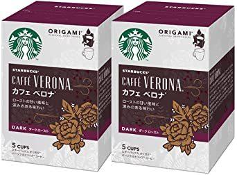 5袋 (x 2) ネスレ スターバックス オリガミ パーソナルドリップコーヒー カフェベロナ ×2箱_画像1