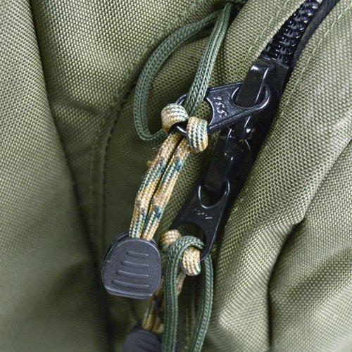 Bush Craft(ブッシュクラフト) ファイヤーコードジッパープル(Fire Cord Zipper Pulls)シンレッド_画像4