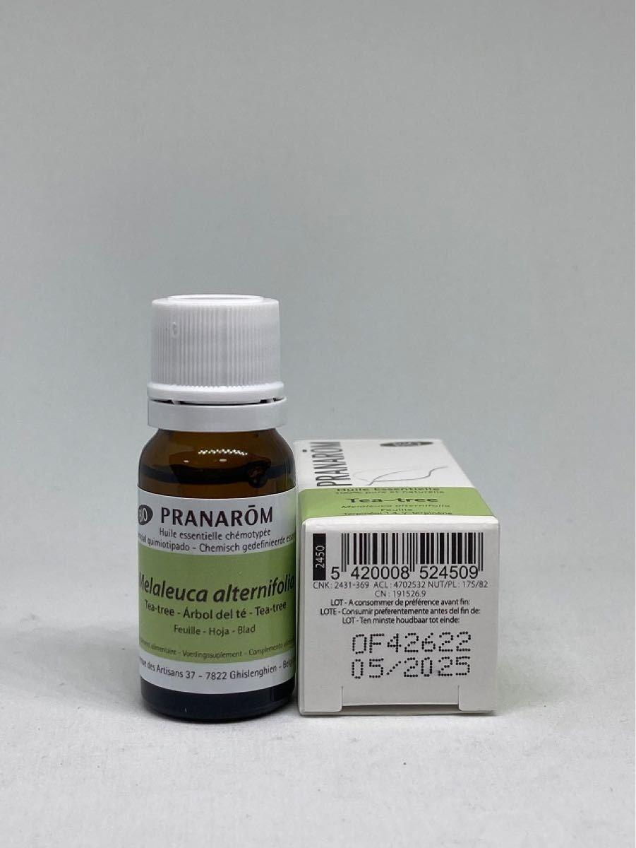 プラナロム ティートゥリー BIO 10ml ティーツリー 精油
