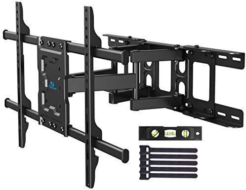 前後&左右&上下多角度調節可能 VESA600x400mm 37-70インチ対応 Pipishell テレビ壁掛け金具 耐荷重60kg 液晶テレビ用 アーム式 LCD LED_画像1