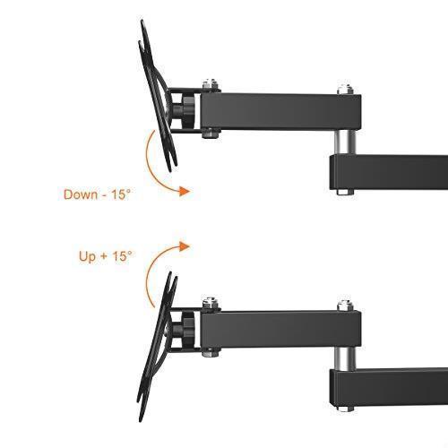 !- テレビ壁掛け金具 上下左右角度調節 アーム式 Himino 14-27インチLCD LED OLED液晶テレビ対応 左右移動式 耐荷重10kg VESA_画像7