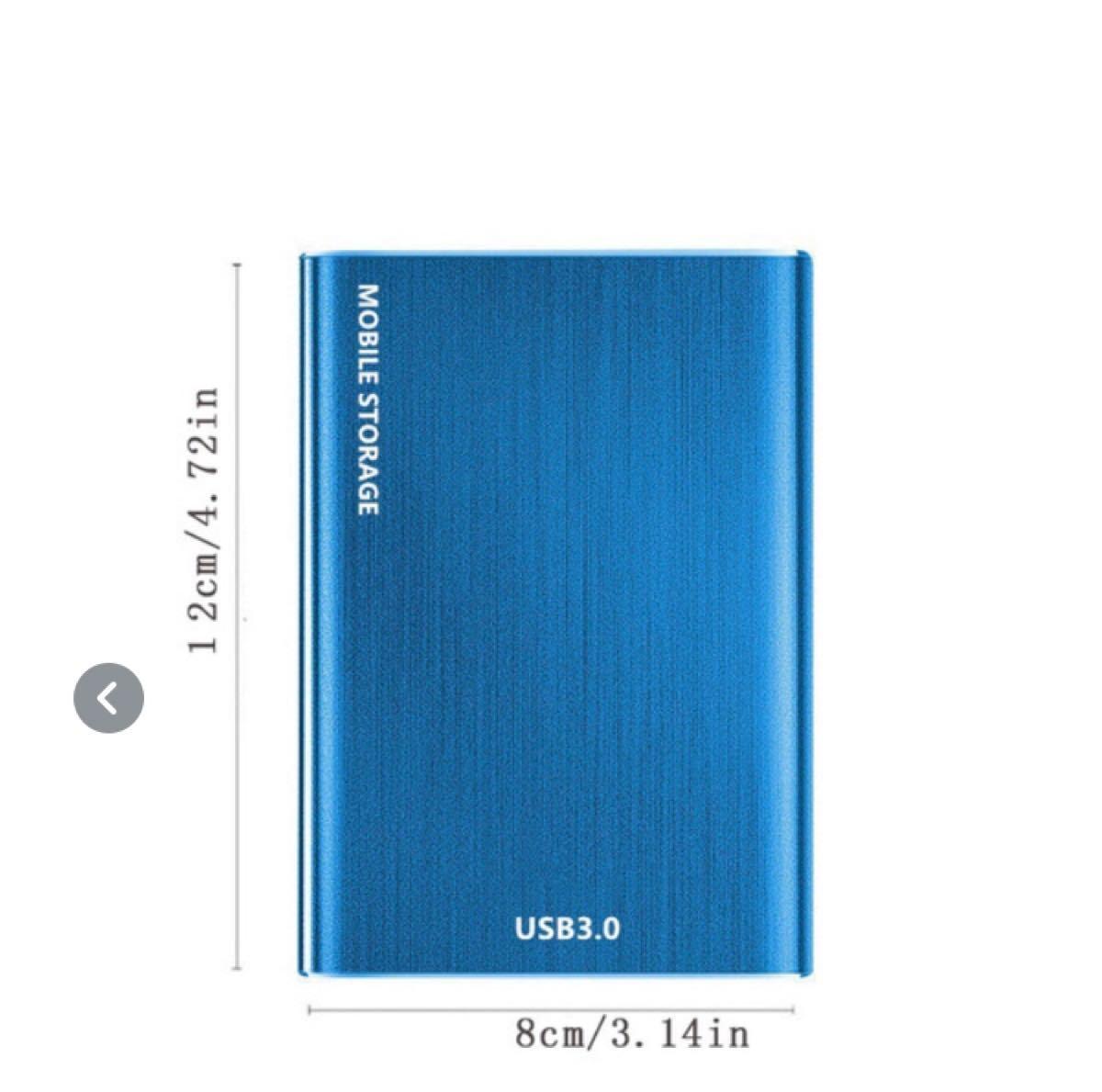 ポータブルSSD 2TB レッド 外付け 小型 軽量 SSD ポータブルSSD SSD ポータブル