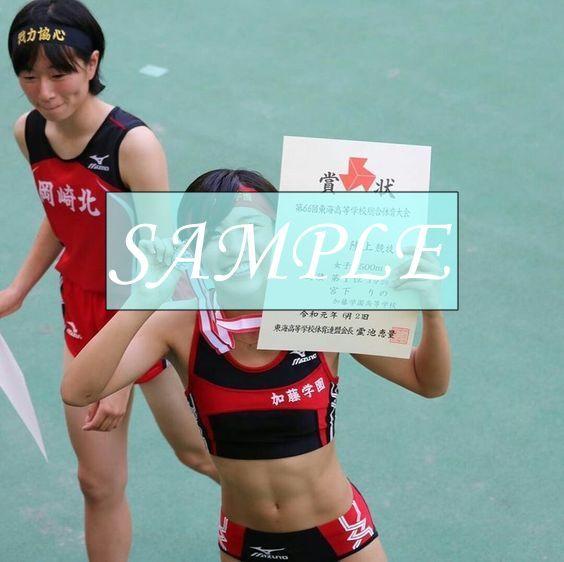 R38 生写真 レーシングブルマ 女子 陸上 L判 L版 女子アスリート 高画質 グラビア スポーツ_画像1