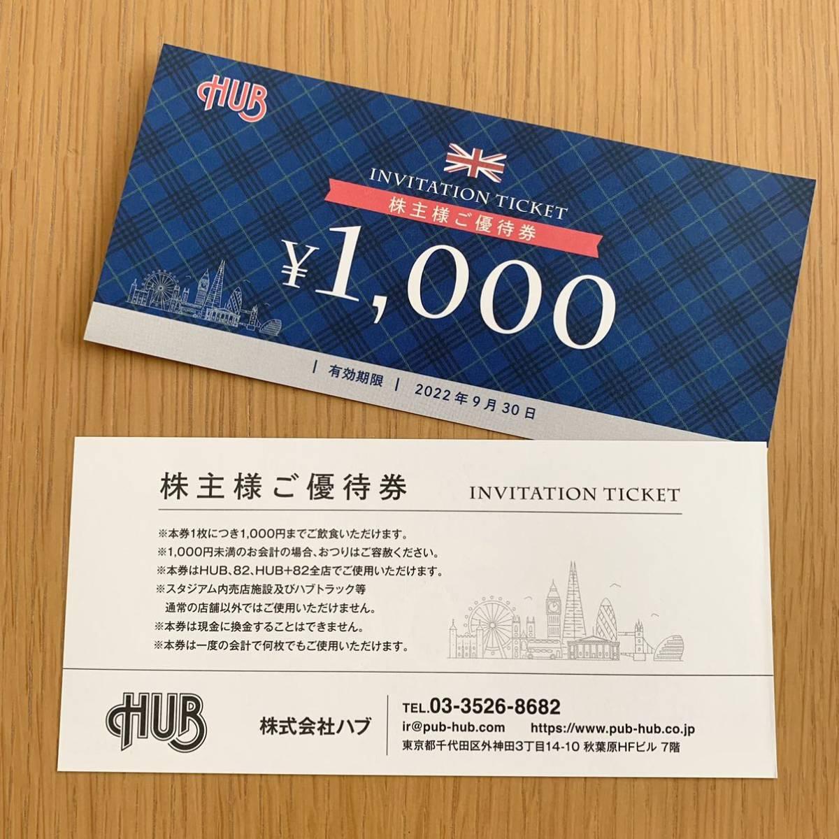 ゆうパケット発送 HUB 株主優待券 10000円分 有効期限 2022.9.30_画像3