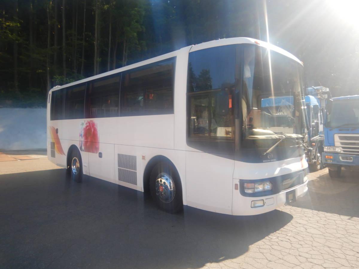 「【CH15862】H14年 日産ディーゼル スペースアロー 37人乗りバス 観光バス 送迎バス 実走28万㌔台 NOX・PM適合 中型バス 税込!」の画像2