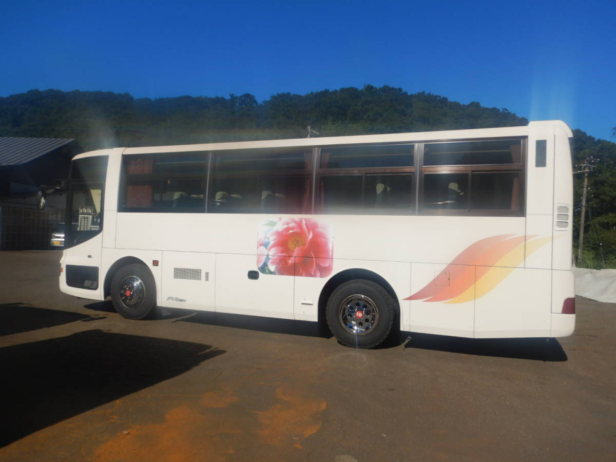 「【CH15862】H14年 日産ディーゼル スペースアロー 37人乗りバス 観光バス 送迎バス 実走28万㌔台 NOX・PM適合 中型バス 税込!」の画像3