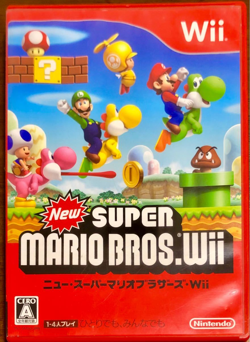 NewスーパーマリオブラザーズWii ニュースーパーマリオブラザーズWii Wii ソフト