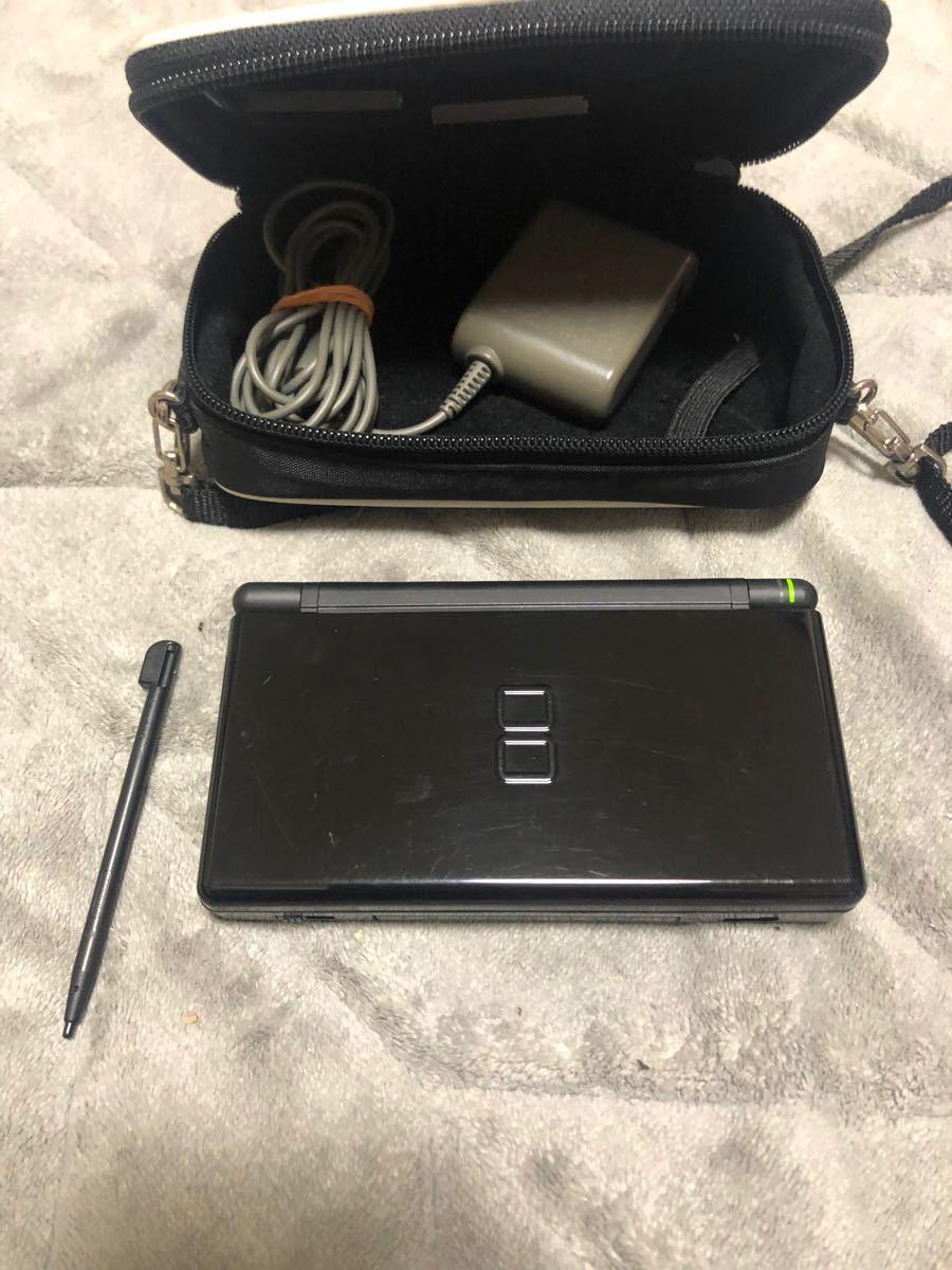 ニンテンドーDS Lite 任天堂 DS Lite ジェットブラック ブラック ニンテンドー Nintendo 充電器