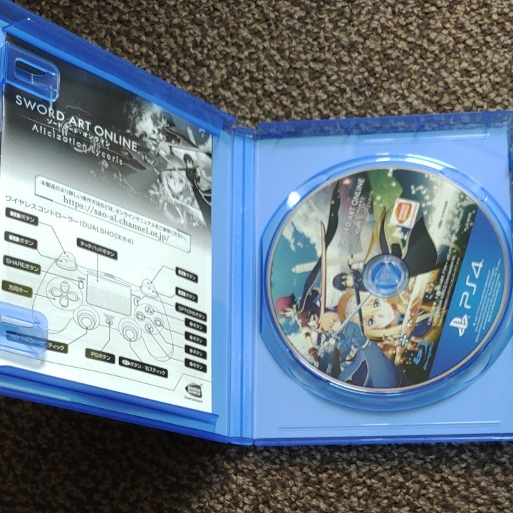 PS4 ソードアート・オンライン