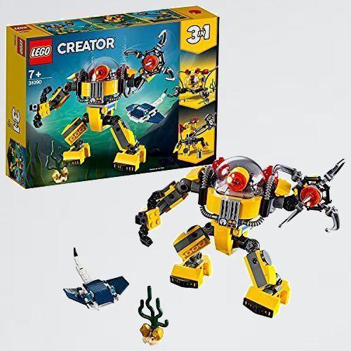 好評 新品 クリエイタ- レゴ(LEGO) F-3L 女の子 男の子 海底調査ロボット 31090 知育玩具 ブロック おもちゃ_画像1