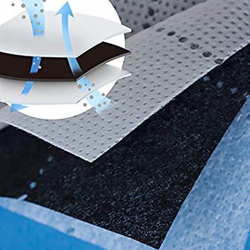 アストロ 収納ケース 羽毛布団 シングル・ダブル兼用 グレー 不織布 活性炭消臭 ワイヤー入り 620-42_画像7