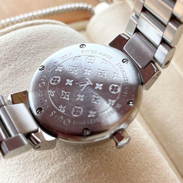 ルイ・ヴィトン タンブール レディース 腕時計_画像6