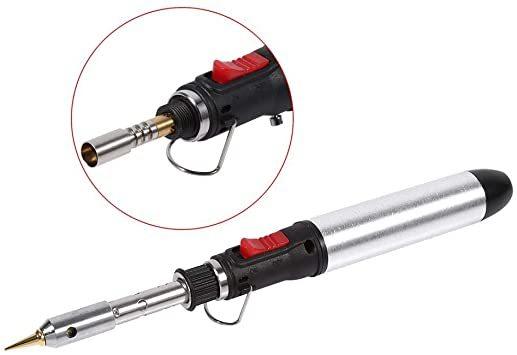 Salinr 4 In 1電気はんだごて ハンダゴテ ガス式半田ごて はんだごてペン 携帯電話 修理工具 ハンダゴテDIY作業工_画像2