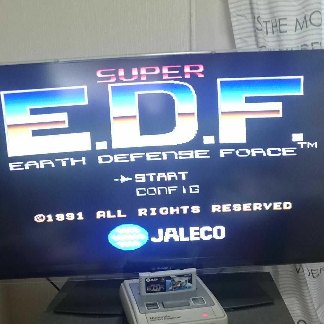 SUPER EDF スーファミ スーパーファミコン SFC スーパーEDF
