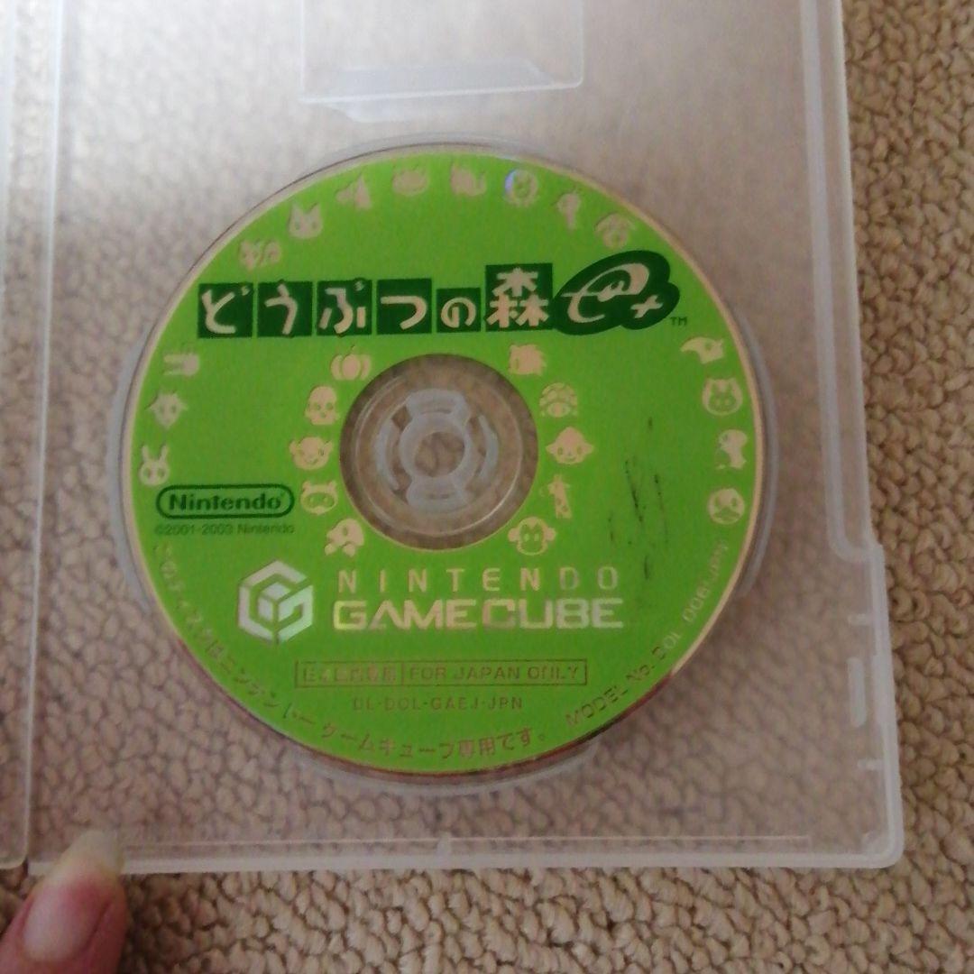 どうぶつの森e+  ゲームキューブ ゲームキューブソフト
