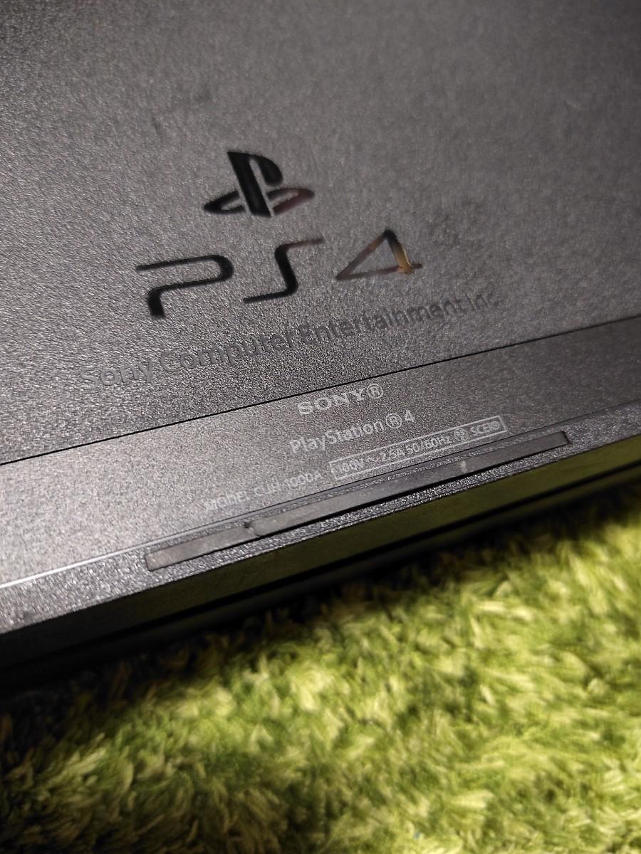 PS4 プレイステーション4 本体  ジェットブラック CUH-1000A 500GB 初期型PS4
