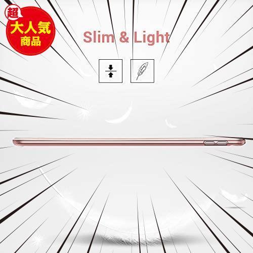 ESR iPad Mini 5 2019 ケース 軽量 薄型 スマート カバー 耐衝撃 傷防止 ソフト TPU 背面 ケース 三つ折り スタンド オートスリープ_画像7