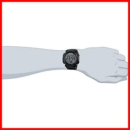 ★バンド色:ブルー★ Timever(タイムエバー)デジタル腕時計 メンズ 防水腕時計 led watch スポーツウォッチ アラーム_画像4