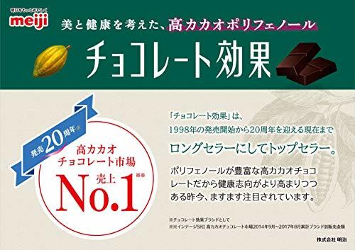 800グラム(x 1) 明治 チョコレート効果カカオ95%大容量ボックス 800g_画像6