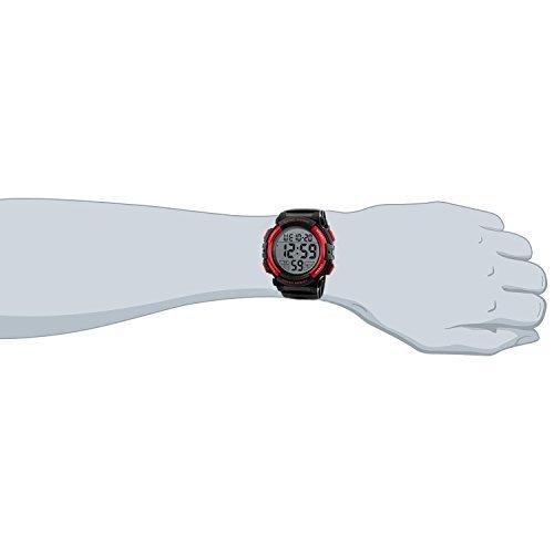 レッド Timever(タイムエバー)デジタル腕時計 メンズ 防水腕時計 led watch スポーツウォッチ アラーム ストッ_画像3