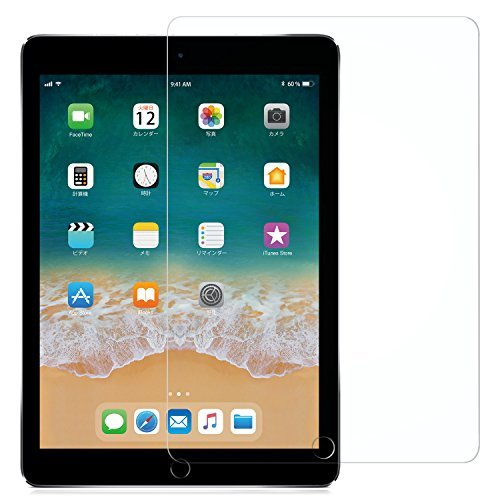 高透過率 9.7 inch NIMASO【ガイド枠付き】iPad 9.7 5/6世代用 ガラスフィルム iPad Air2 / _画像1