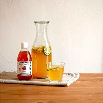 300ml オーガニック アップルサイダービネガー 300ml (有機 りんご酢 無添加 100%天然 ブラウンシュガーファース_画像3