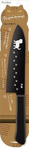 三徳包丁 貝印 KAI 三徳包丁 ねこ の 包丁 Nyammy 165mm 日本製 AB5801_画像4