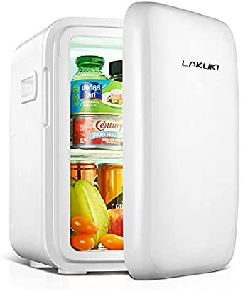 【最新版】小型冷蔵庫 ミニ冷蔵庫 冷温庫 10L 保冷 保温 家庭 車載両用 ポータブル コンパクト AC DC 電源輸入 1ド_画像1