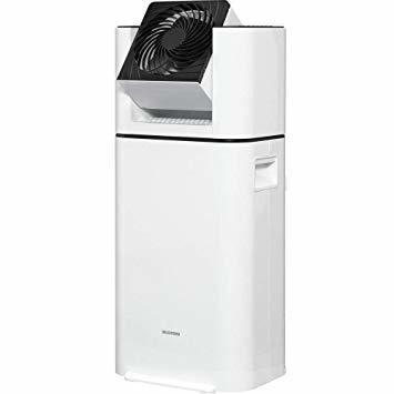 1)ホワイト アイリスオーヤマ 除湿機 サーキュレーター 衣類乾燥 強力除湿 除湿器 スピード乾燥 除湿量 5L 湿度センサー _画像1