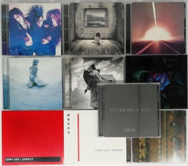 【LUNA SEA】 アルバム CD まとめて 10枚セット ルナシー_画像1