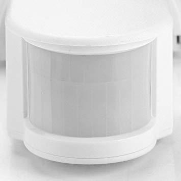 白い AC 110~240V赤外線センサースイッチ 人感センサースイッチ 調節可能 LEDライト、コンパクト蛍光灯、白熱電球など_画像8
