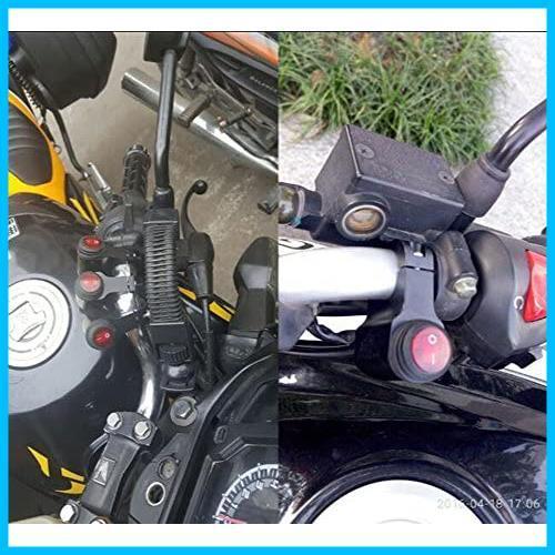 【送料無料-最安】 12V 防水 F1638 22mmハンドルバーオートバイ用 ヘッドライトフォグスポットライトON/OFFスイッチ_画像6