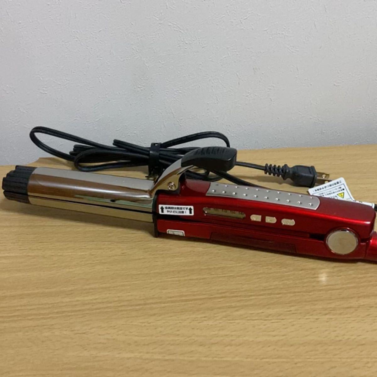 ヴィダルサスーン マジックシャイン VSS-8000/RJ スチーム2WAYヘアアイロン 32mm
