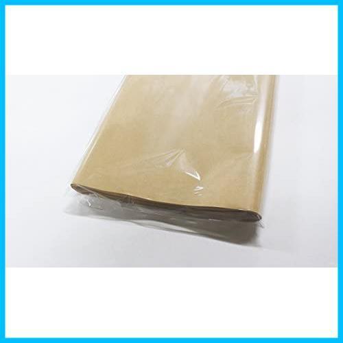 【送料無料-特価】 片面ツヤ加工 ラッピング G0632 クラフト紙 フジパック 100枚 包装紙_画像3