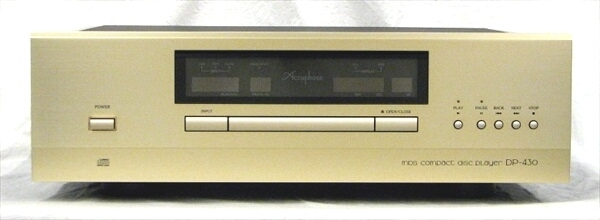 CDプレーヤー Accuphase DP-430  アキュフェーズ 2020年9月購入品_画像1