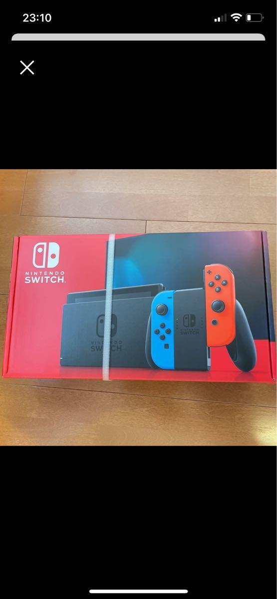 Nintendo Switch ニンテンドースイッチ ネオンレッド ネオンブルー ニンテンドースイッチ本体 新モデル
