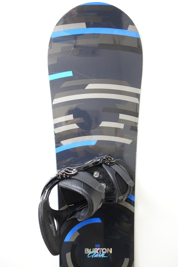 中古 12/13 BURTON CLASH 158cm FREESTYLE ビンディング付き スノーボード バートン クラッシュ フリースタイル_画像2