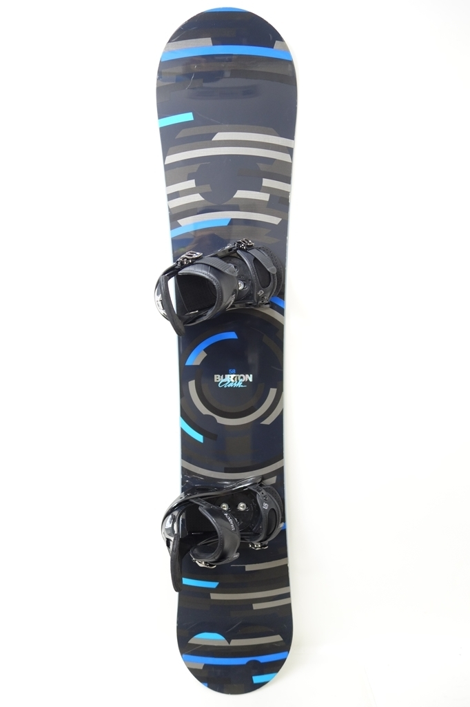 中古 12/13 BURTON CLASH 158cm FREESTYLE ビンディング付き スノーボード バートン クラッシュ フリースタイル_画像1