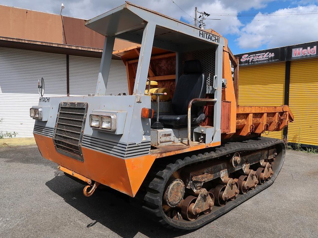 「※配送費無料※ 日立 CG45 クローラーダンプ 7t 7トン 積載4,500㎏ クローラダンプ キャリアダンプ 不整地運搬車 」の画像1