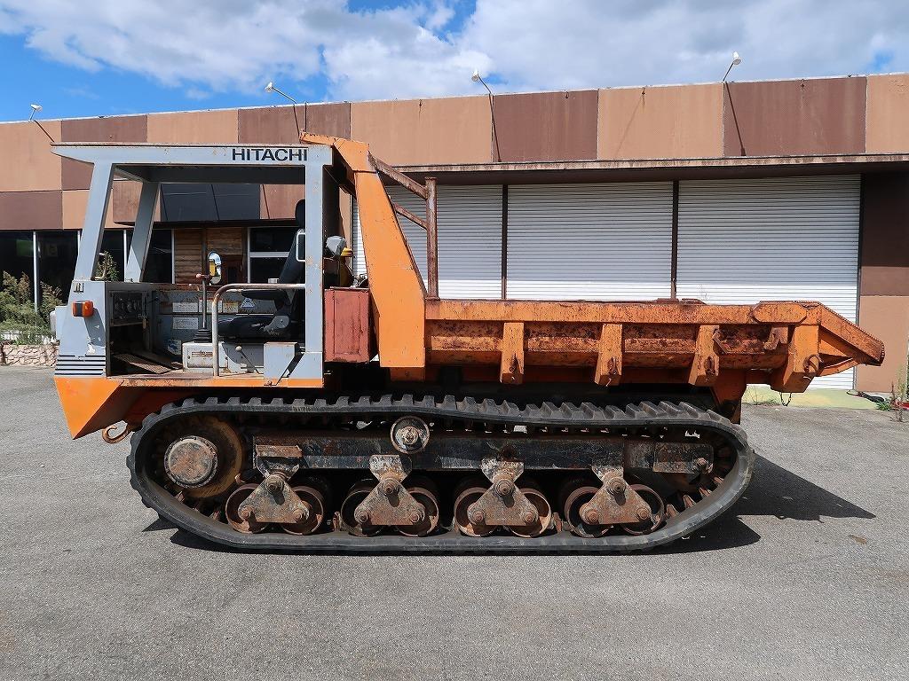 「※配送費無料※ 日立 CG45 クローラーダンプ 7t 7トン 積載4,500㎏ クローラダンプ キャリアダンプ 不整地運搬車 」の画像3