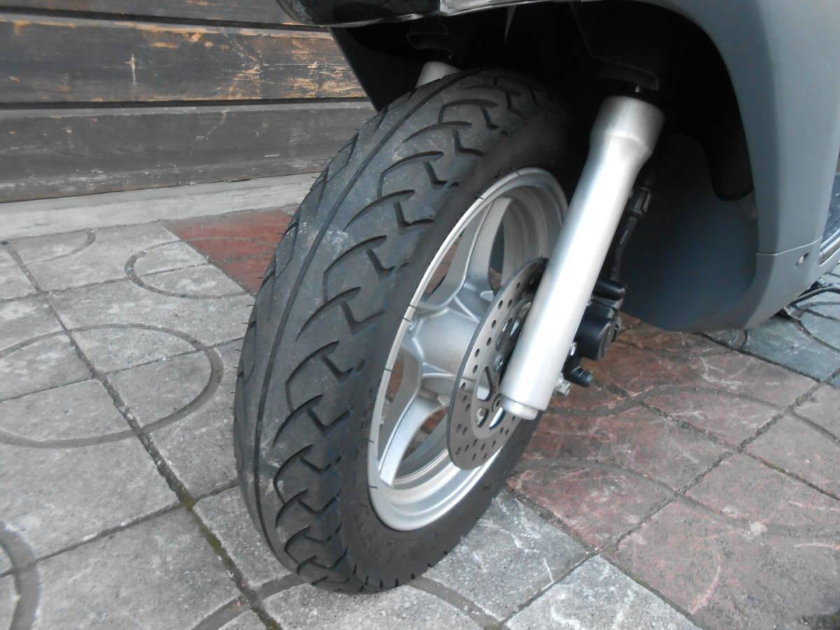 「即決 アドレス125 L8 黒 DT11A 綺麗なノーマル車 走行11400キロ」の画像3