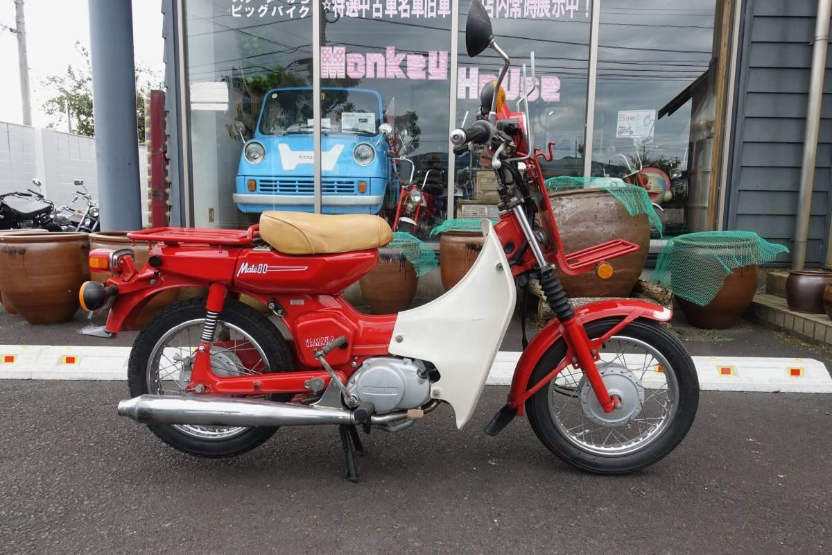 「ヤマハ メイト80 V80T 郵政 検 郵政メイト 郵政カブ MD」の画像1