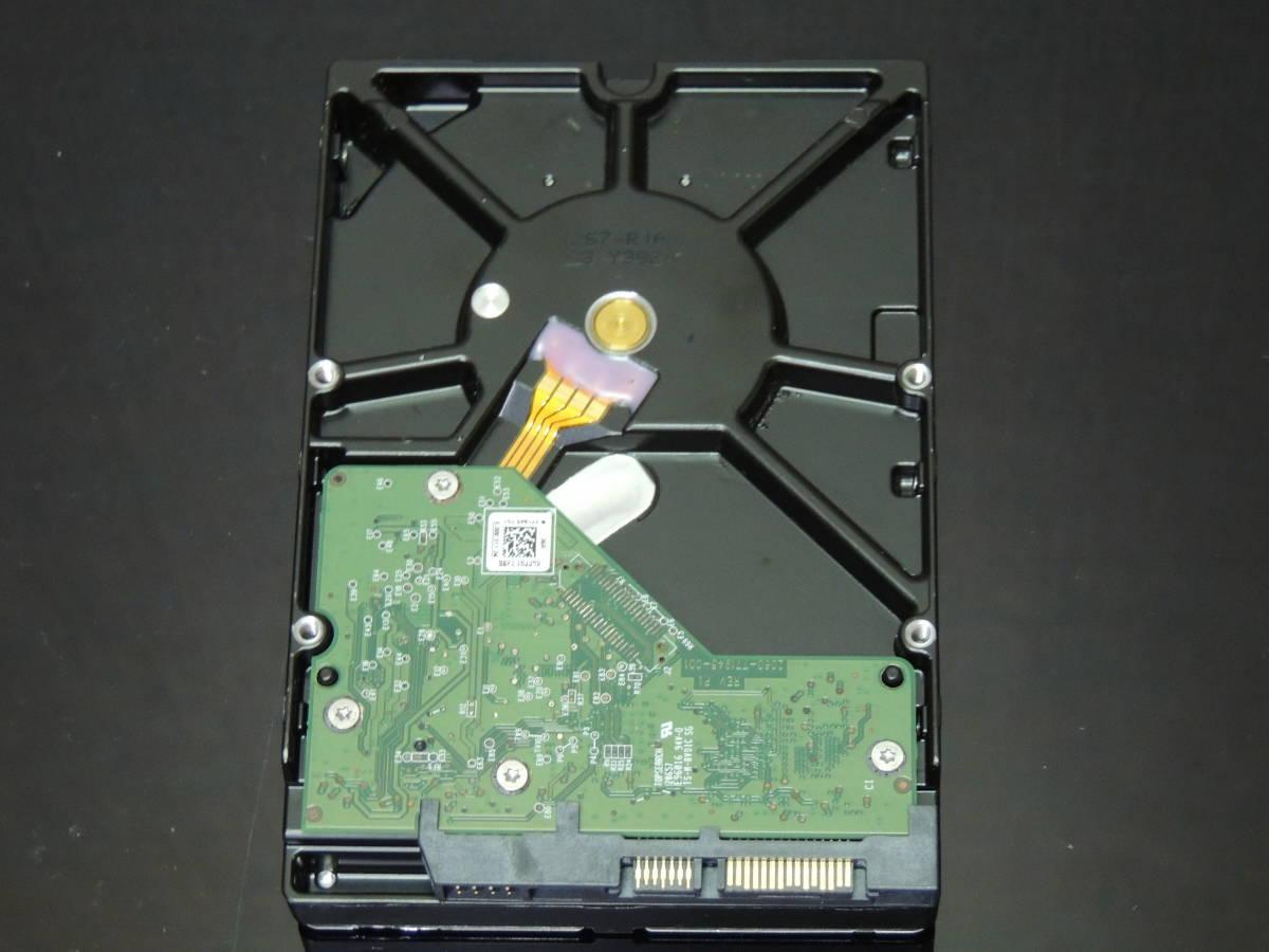 【検品済み】WD Green 3TB HDD 3.5インチ WD30EZRX (使用10447時間) 管理:e-54_画像5