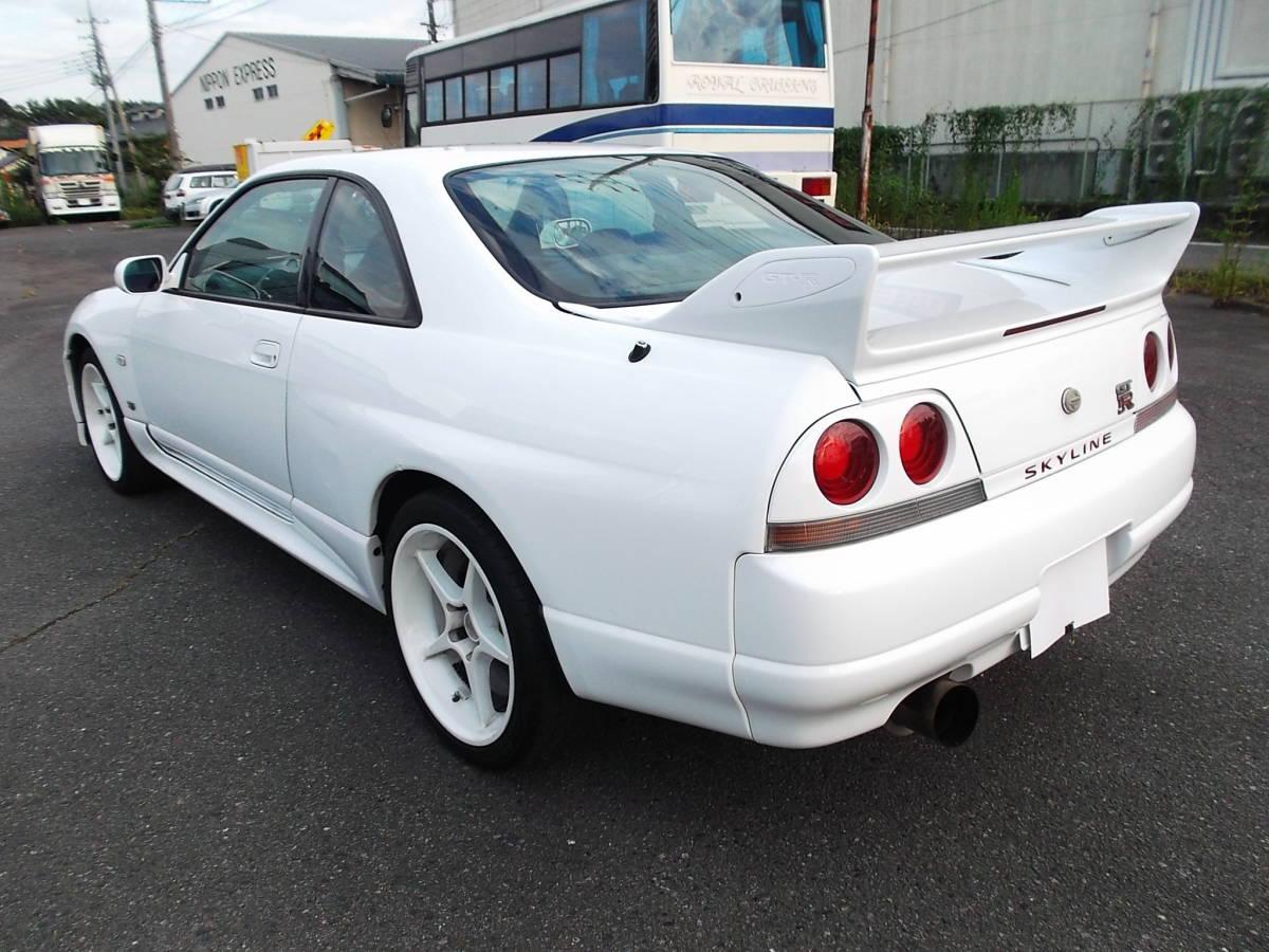 ★平成9年5月(1997年) スカイラインGT-R BCNR33 4WD_画像4
