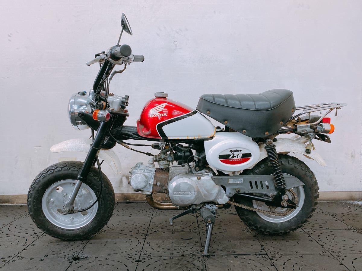 「チビCBX モンキー CBX仕様 エンジン良好 カスタムなどに最適のバイク 陸送や直接引取可能 福岡」の画像2
