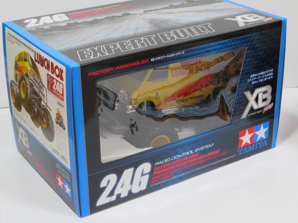 送料込み! 未開封 ランチボックス タミヤ 1/12 XB 2WDオフロードカー フルセット完成品