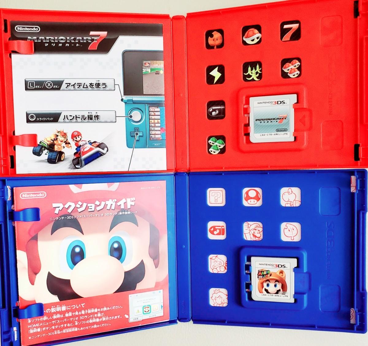 マリオカート、 ニュースーパーマリオブラザーズ2、ルイージマンション、 スーパーマリオ3Dランド ニンテンドー 3DS