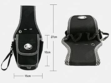 Cタイプ 工具用ウエストバッグ 大工 電工用 作業効率の良い機能設計 工具差し 工具袋 ポーチ腰袋 ベルトポーチ ツールバッグ _画像2